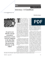 Gandhiji and Democracy
