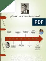 Quien es Albert Bandura?