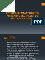 estudio de impacto ambiental para un taller de maquinarias