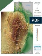 Peta Radius Bencana Kawasan Bromo