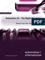 Automotive 4.0 – The Digital Revolution