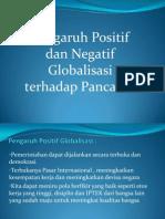 Pengaruh Positif dan Negatif Globalisasi terhadap Pancasila