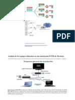Análisis de Los Equipos Utilizados en Una Instalación FTTH de Movistar2C