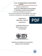 An in-Depth Study of Performance Management System