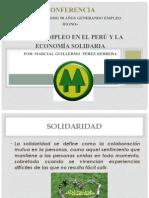EL AUTOEMPLEO EN EL PERU Y LA ECONOMIA SOLIDARIA