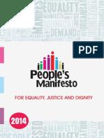 1. People's Manifesto
