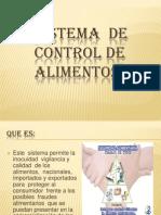 Sistema de Control de Alimentos