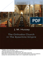 1. the Orthodox Church in the Byzantine Empire (J. M. Hussey)