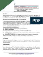 11 Accountancy Keynotes Ch05 Depreciation Provision and Reserves Vk
