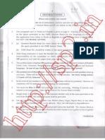 RRB JE 14th Dec 2014 Question Paper