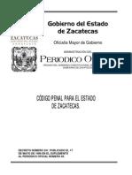 Codigo Penal Zac
