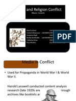 Media and Conflict-SRC