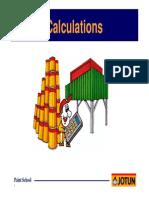 Calculation JOTUN