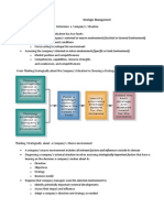 Strategic Management External Environmental Analysis Notes