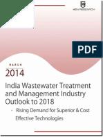 indiawastewatertreatmentandmangementindustry-140325000401-phpapp01