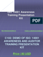ISO 14001 Awareness Train 4042543