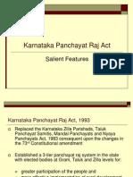 Karnataka Panchayati Raj Act
