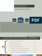 Best Western Grand Opening Toolkit