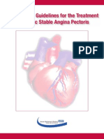 Primary Care Guidelines for the Treatment of Chronic Stable Angina Pectoris