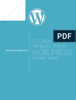 Tutorial Membuat Theme Worpress