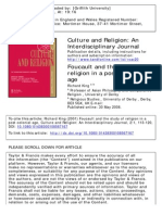 Foucault and Study of Religion in Post-colonial Age