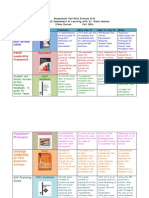 Dornan Assessment Portfolio Process Grid