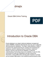 Oracle DBA Online Training