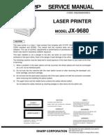 Sharp Laser Printer JX-9680 Parts & Service