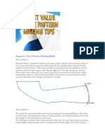 6 Best Value Shoe Pattern Making Tips