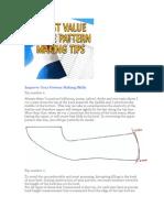 6 Best Value Shoe Pattern Making Tips