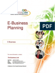 e Business Planning