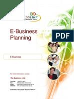 e Business Planning