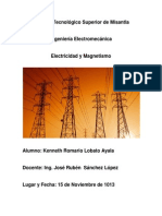 Energía Electric Kenneth Romario Lobato Ayala