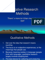 Lecture 10 Qualitative Research