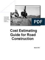 Cost estimation guide for road 2.1
