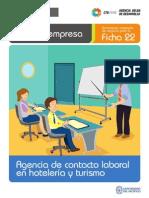Ficha Extendida 22 Agencia de Contacto Laboral en Hoteleria y Turismo