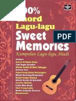 013 100% Chord Lagu-Lagu Sweet Memories Oleh Tim Medpress [Www.pustaka78.Com]