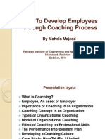 How to Develop Employees Through Coaching Process