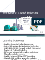 Capital Budgeting (PPT)