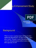 Paging Enhancement Study