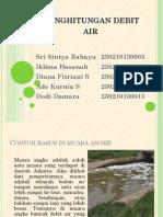 Debit Air Muara Angke
