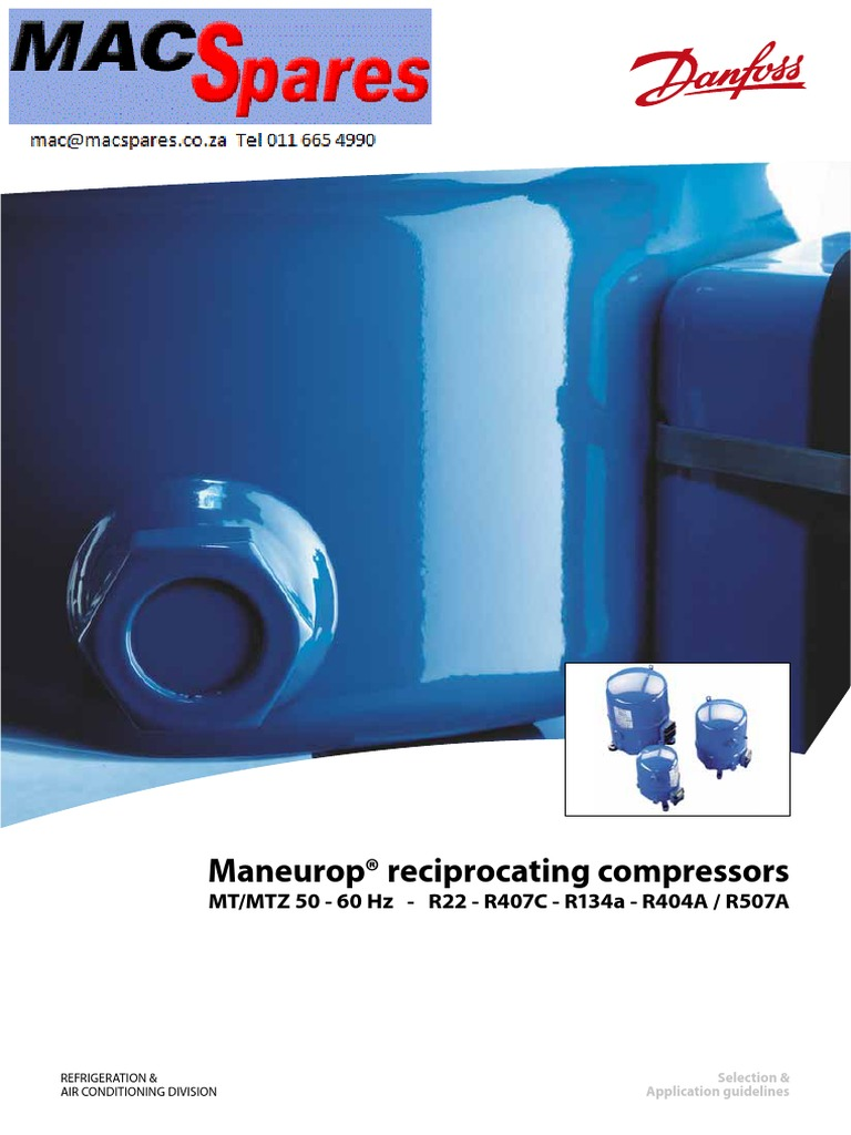 ms maneurop refigeration compressors spec sheets engineering rh scribd com Automotive Wiring Diagrams Wiring Diagram Symbols