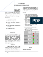 Lab Report Pc Interfacing (lab 2)