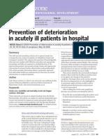 Deteriorating Patient Handout