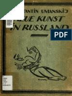 UMANSKY, K. Neu Kunst Russland