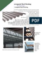 Corrugated Steel Decking