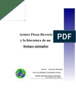 Arturo Pérez-Reverte y La Literatura de Un Tiempo Ejemplar