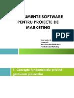Curs Instrumente Software Pentru Proiecte de Marketing