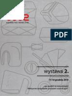 """Wystawa 2. """"Jak zarobić na wzornictwie? Efektywne zarządzanie procesem wzorniczym"""" 11-12 grudnia 2014"""