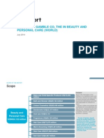 Procter Gamble Co the in Beauty and Personal Care (World)